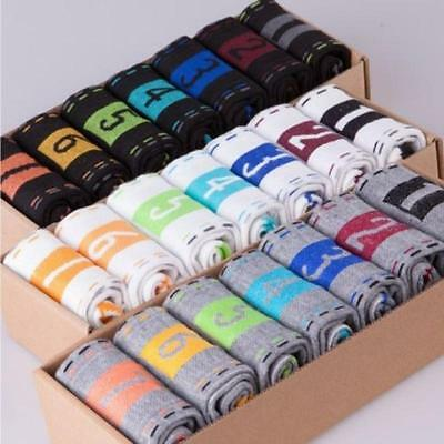 7 Pair Hot New Chic Wholesale Lots Men Casual Dress Socks Cotton Ankle Week Crew
