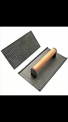 New Star Foodservice 36435 Commercial Grade Iron Steak Weight/Bacon Press, 8.4