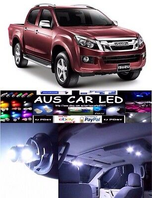 Isuzu D-Max DC White Interior light LED upgrade kit for dome & map ect