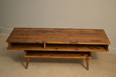 mid century modern coffee table rustic solid wood tv tables
