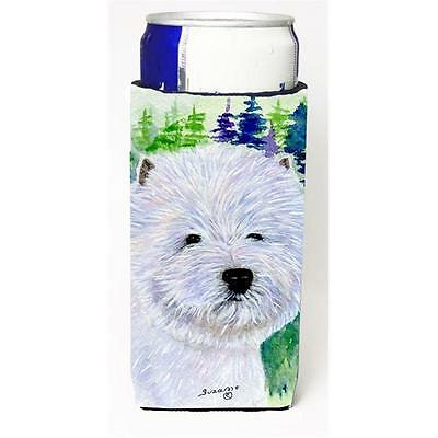 Carolines Treasures SS8002MUK Westie Michelob Ultra s For Slim Cans 12 oz.