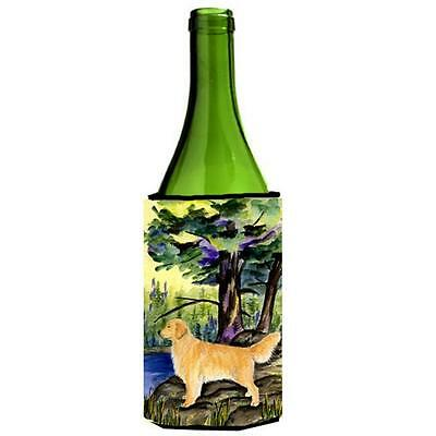 Carolines Treasures SS8426LITERK Golden Retriever Wine bottle sleeve Hugger