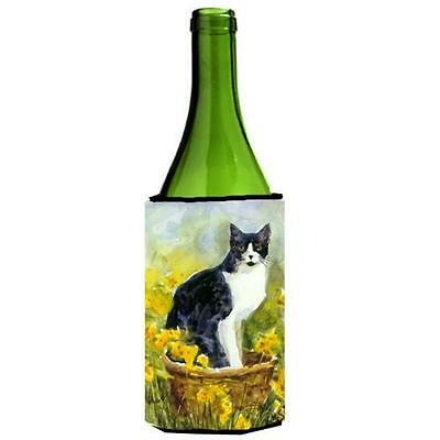 Carolines Treasures MM6038LITERK Cat Wine bottle sleeve Hugger