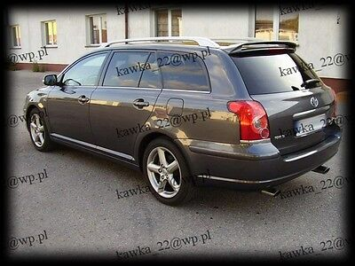 Toyota Avensis II 2 gen T25 Estate Wagon Rear Roof Spoiler ~PRIMED & PREPARED~