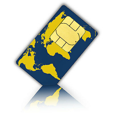 Prepaid WorldSIM +10 Euro credit  - travelling the world and stay connected