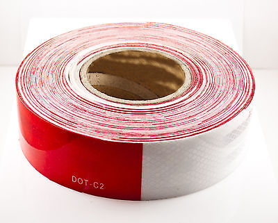 "2""x150' DOT-C2 Reflective Safety Warning Conspicuity Tape Honeycomb Design Truck"