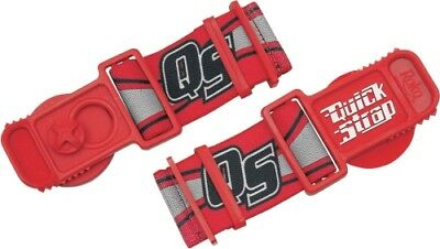 Factory Effex ROKO Quick Release Straps Helmets Goggles QS-10 - Red Quickstrap