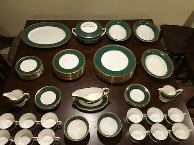 Coalport Ventura Fine Bone China Made In England 69 Piece Set