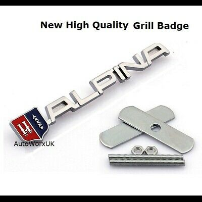 Alpina Grill Badge Car emblem M Tec Tech Sport M3 M5 M6 1 2 3 4 5 6 Series 23g