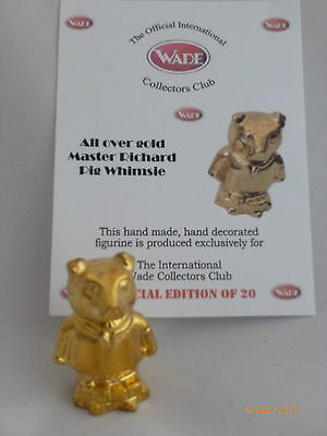 Wade-Whimsie All Over Gold Master Richard Pig Whimsie