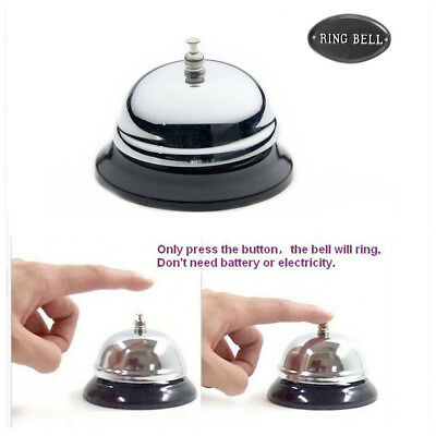 Desk Bell Ring Call Reception Hotel Service Counter Restaurant Office Bar Butler