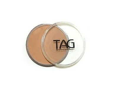 TAG Body Art 32g Pot Regular Bisque Professional Face and Body Paint - Make up
