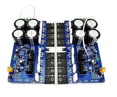 1pair PR-800 Group A professional stage amplifier board 1000W super power