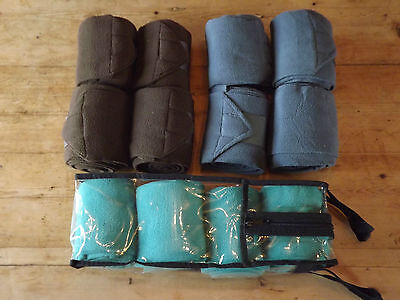 Polo Bandages, quality fleece in 3 colours, stable bandage, exercise or travel