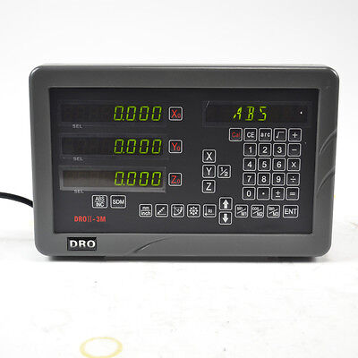 Sinpo Complete Dro Kit 3 Axis Digital Display Readout For Mill Milling Machine