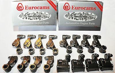 Volkswagen Vw Golf V, Plus, Jetta Iii 2.0 Tdi In Ex Rocker Arms Set 16 Pcs