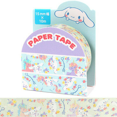 Cinnamoroll Decorative Paper Tape  - Flowers