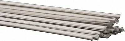 "(10 Pack) 18"" Aluminum Braze Rod Flux Core"
