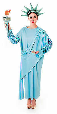#Statue Of Liberty Women's Patriotic Outfit Forth Of July Fancy Dress Party