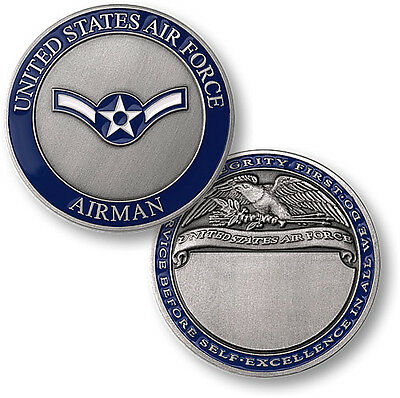 U.S. Air Force / Airman - USAF Nickel Challenge Coin
