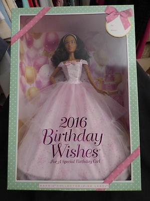 ` 2016 A.A. Happy Birthday Wishes Doll is Such a Sweet Wholesome Barbie ~