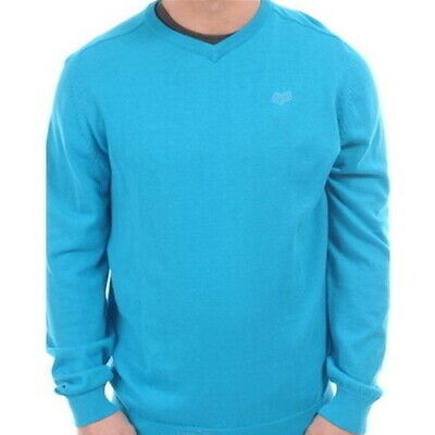 Fox Men's Mr Clean Sweater Electric Blue  Only $19.99  Rrp $59.99!