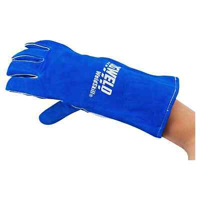 Cigweld Heavy Duty Welding Gloves Blue for Welding applications