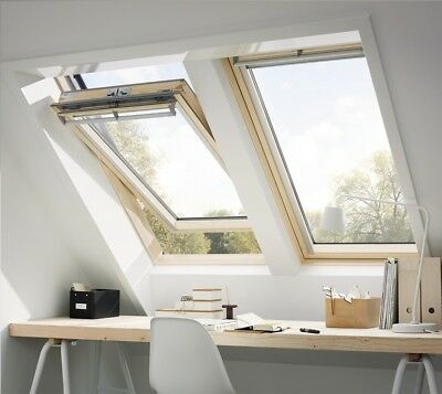 Dachfenster VELUX GGL 3060 5 Star Verglasung Holz Centre Pivot Roof Window
