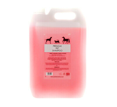Dog/pet shampoo japanese cherry blossom 5L/gallon REDUCED