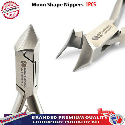 Moon Shape Toenail Clippers For Thick Nails Foot Care Pedicure Podiatry Cutter