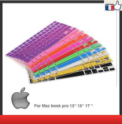 Keyboard Cover Skin for APPLE Mac silicone 13 15 17 for MacBook PRO only