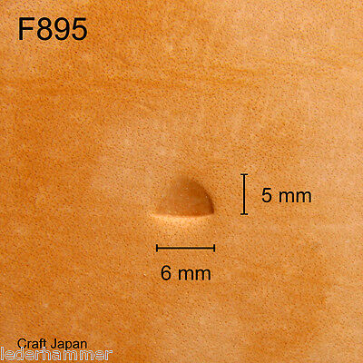 Punziereisen, Lederstempel, Punzierstempel, Leather Stamp, F895 - Craft Japan