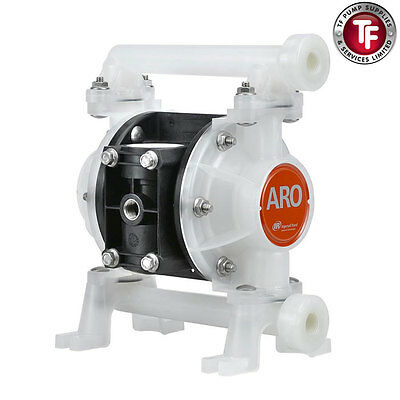"3/8"" Ingersoll-Rand Aro Air  Driven Double Diaphragm Pump Pd03P-Bps-Ptt"