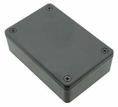1591XXMSBK Black Genuine Hammond ABS Enclosure Project Box (85 x 56 x 24mm)