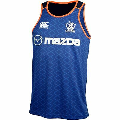 North Melbourne Kangaroos 2016 Training Singlet 'Select Size' S-3XL BNWT