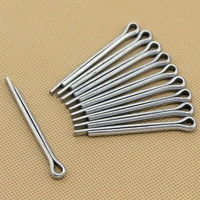 Qty 100 - Carbon Steel Split Cotter Pins M4 M5 Hardware Fasteners Parts