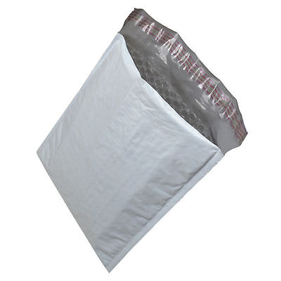#2 100 Poly Bubble Mailers 8.5x12 Plastic Padded Envelopes Self Sealing Bags