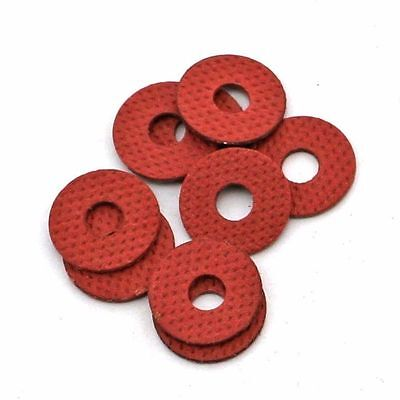 Insulation Gaskets Flat Spacer Washers M2 M2.5 M3 Red