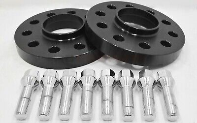 2pc 30mm Hubcentric Wheel Spacers Kit 5x120 W/ Bolts E36 E46 E60 E61 E62 E90 E91