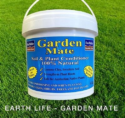 GARDEN MATE soil conditioner -essential for every soil type 750g, 2.5kg or 4.5kg