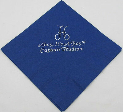 100 Personalized Beverage Napkins Wedding favors custom printed