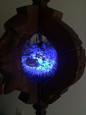 NEW Witco style lamp with Puffer Fish Lamp Tiki bar Smokin Tikis Free Shipping*