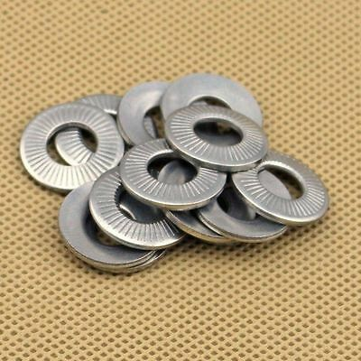 10X 304 Stainless Butterfly Saddle Washer anti-skid Washer M3 M4 M5 M6 M8 M10M12
