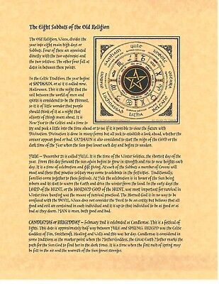 graphic regarding Free Printable Book of Shadows Pages called E-book OF SHADOWS Spell Webpages ** 8 Sabbats of the Outdated Faith ** Wicca Witchc