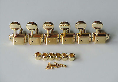 Gold Strat/Tele Vintage Style Guitar Tuning Keys Guitar Tuners Machine Heads