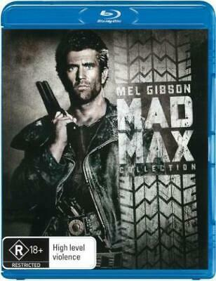 The Mad Max Trilogy 3-Movie Collection Blu-Ray Region B