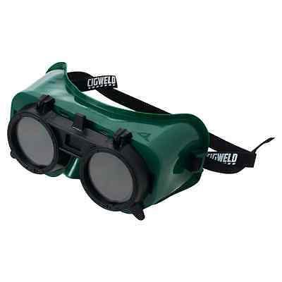 Cigweld Lift Front Gas Welding Goggles Shade 5 with Soft pliable frame