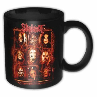 Slipknot Band Members Black Red Logo Rusty Boxed Coffee Gift Mug Cup Official