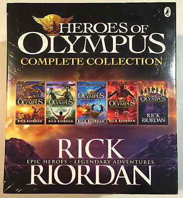 HEROES OF OLYMPUS Complete Collection by Rick Riordan Boxed Set : Puffin Books