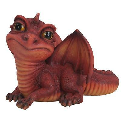 Brand New Baby Dragon Garden Ornament Available In 3 Colours